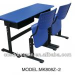 popular adjustable double school furniture MK808Z-2-MK808Z-2