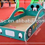 wooden children car bed-LT-10B0298