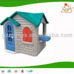 two storey design children plastic playhouse-MT-073118