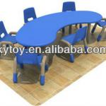 Kids Study Table Chair Set with SGS Approval-KY-0205