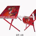 Kids table and chairs stackable-DT-19