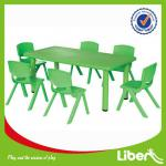Children Plastic Table and Chair set Kindergarten Furniture LE.ZY.003-LE-ZY003