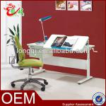 high quality height adjustable student study folding desk and chair-S-001B