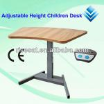 Ergonomic Single-Leg Height Adjustable Children Table, study table, school table-SHF-A1