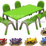 High Quality Children's Table with Chairs - School Furniture-HHZY-008