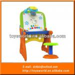 Study Table and Chair Set With Projector Drawing & Writing Board Kids Baby Educational Toys-DSN1310925