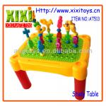 43Pcs Newest Plastic Baby Intelligence DIY Learning Table Kids Study Table-AT513