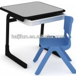 Children Furniture, Candy student desk new arrival in 2014-HJL-BD009