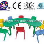 Children cheap plastic tables and chairs-YCY-005
