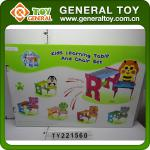Desk chair,Chair and desk attached,Children table-TY221560