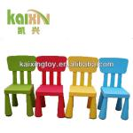 Mu Tong Yuan Plastic back chair,children furniture-KXZY-4002