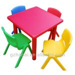 HL-6401 Lovely Stable Plastic Kindergarten Table And Chairs-HL-6401