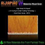 UV melamine wood grain paper laminated particle board-AJ-99701