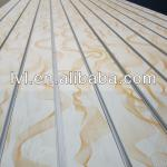 Slotted MDF For Shop Fitting-grade A,4' * 8'
