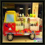 Colorful children toy cabinet in mall,cute toy chest for display Snoopy-K40002