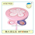 Wooden Furniture Vegetation Flower Stool-HT87905