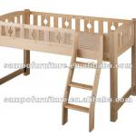 Solid wooden furniture durable bed-SP-C101B