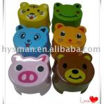 Plastic children animal stool-019003