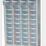 40 drawers parts cabinet without door ,workshop steel storage parts cabinet-CBH-440