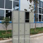 Metal Storage Cabinet With 9 Doors-JF-3B3A