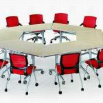 China movable office folding table for sale-HF-04