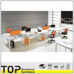Fashion Design 8 People Modern Office Workstation-XIN-MD
