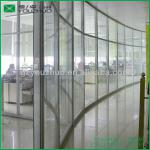 V828-22 Arc High Cubicle Wall Partitions of Glass for Office-V828-22