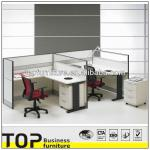 Office partition Workstation modular for 2 person-T3A+T6