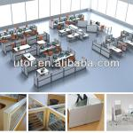 modern modular office furniture witn fabric partitions (T3-series)-T3-C-WSO3-1206-M1008-BB