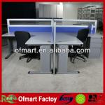 Open Aluminium Frame Office Cubicle Workstation-D40-AS042