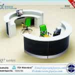 Half Round Reception Desk With 70mm Thick Partition-Q7-YJDT reception desk