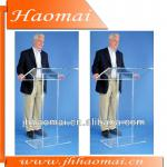 2012 hot sale acrylic large top acrylic lectern-FAY-LECTCVM