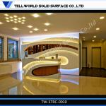 2014 Newest Design Reception Desk Counter used reception desk fashion hotel reception-TW-STRC-0010