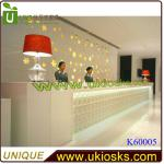 2013 reception counter modern office furniture counter design-K60017 reception counter