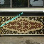 Carved Reception Desks Furniture - Classic Office Furniture-DW-OFD003