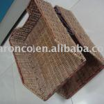 Catalogue shelf/storage shelf from seagrass,rattan with good price-Catalogue shelf 01