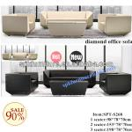 modern leather office sofa-SPT-S268