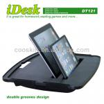 IDESK with soft cushion tablet desk stand for tablet pc,tablet tray-DT-121 tablet desk