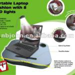 portable laptop cushion with 8 led lights-810DE03