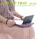 China best on sofa/bed Cooskin portable Laptop desk/laptop tray with cushion on knee-DT-122 Laptop desk