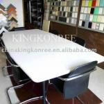 White solid surface Acrylic Conference Table-KKR-T003
