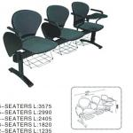 powerful and elegant hospital waiting chair A208-3+06B+06C+02D-A208-3+01+06C+04D