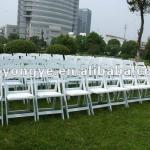 folding resin chair for wedding-E001W