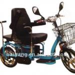 D-63 Foldable double Electric trike with double driving-D-63