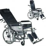 manual patient wheel chair made of stainless steel-SLV-D4033