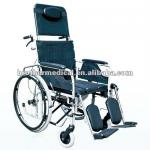 Recling Steel Wheelchair (multifunctional wheelchair for handicapped)-BME4625-2