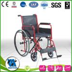 Manual Mobile Foldable Wheelchair For Patient / Disabled Ambulance-BDWC102