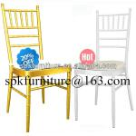 wholesale white and gold wedding chiavari chair-SP-M4