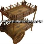 Wooden Serving Trolley-woodenservingtrolley1
