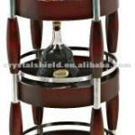 CH-010 Restaurant Wood Trolley Cart/Wine Cart / hotel service trolley / liquor trolley /liquor cart-CH-010